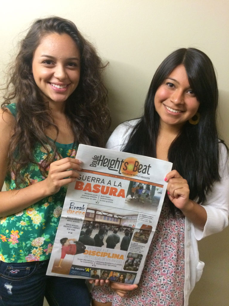 Brizette Castellanos and Dulce Morales are youth reporters with the Boyle Heights Beat in East Los Angeles.
