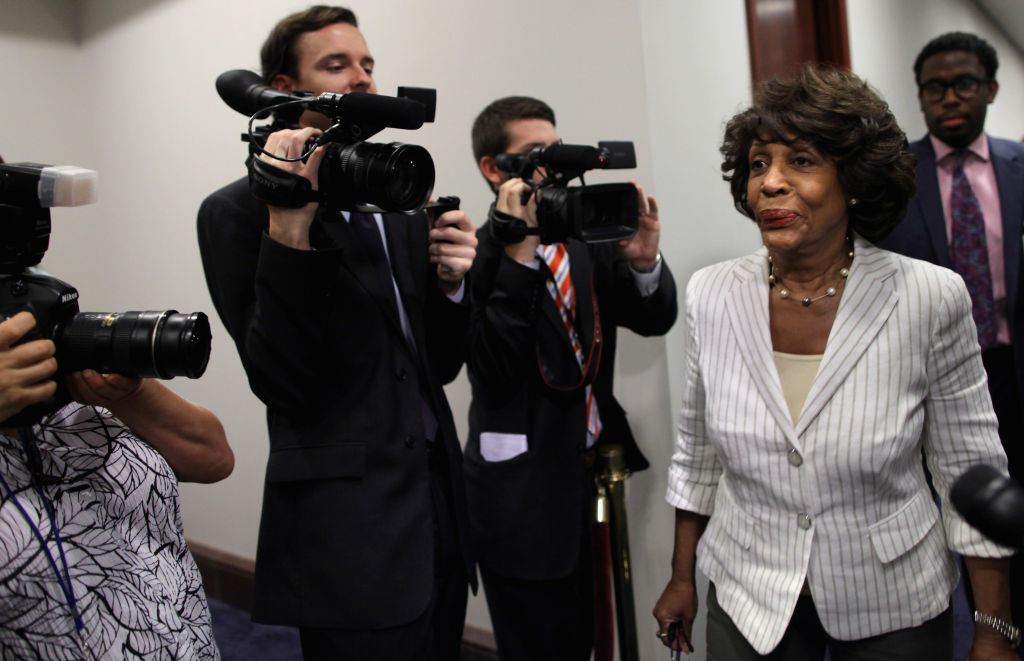 Maxine Waters fights back with a letter from 68 colleagues demanding the release of a report on possible Ethics Committee misconduct.
