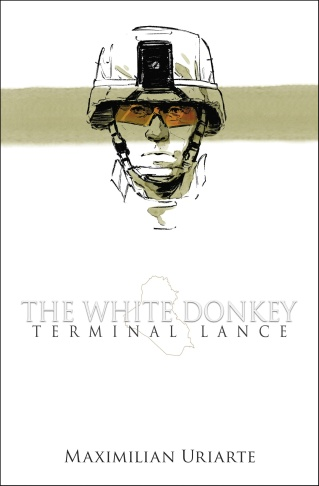 The cover of The White Donkey, a new graphic novel by Max Uriarte.