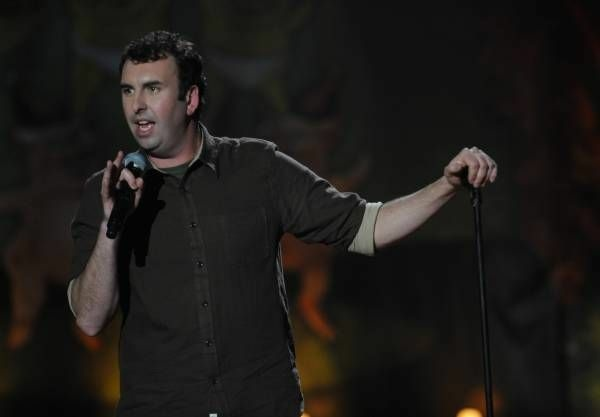 NEW YORK - DECEMBER 02:  Matt Braunger performs on stage at the Gramercy Theater on December 02, 2011 in New York City. (Photo by Brad Barket/PictureGroup)
