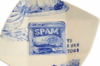 Artist Julie Green has painted the last meals of 357 executed death row inmates.
