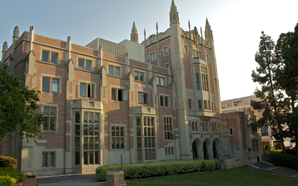 Kaufmann Hall, an athletic center on the UCLA campus.