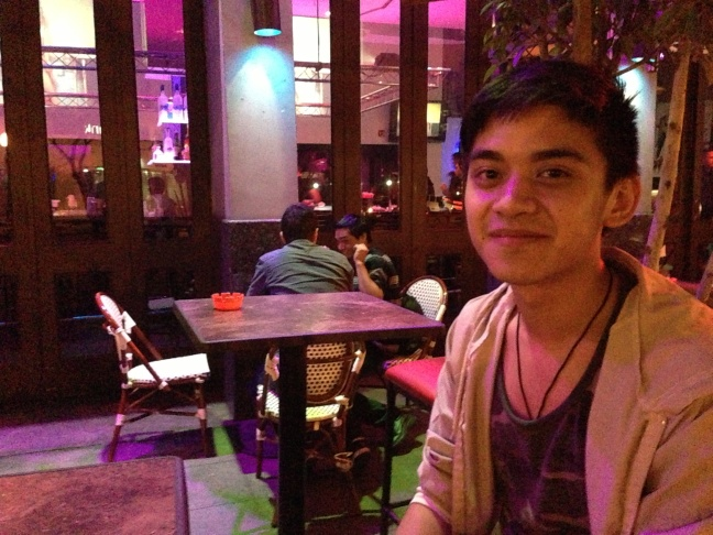 Matt Galang, 20, says he started smoking to cope with stress over coming out as gay.