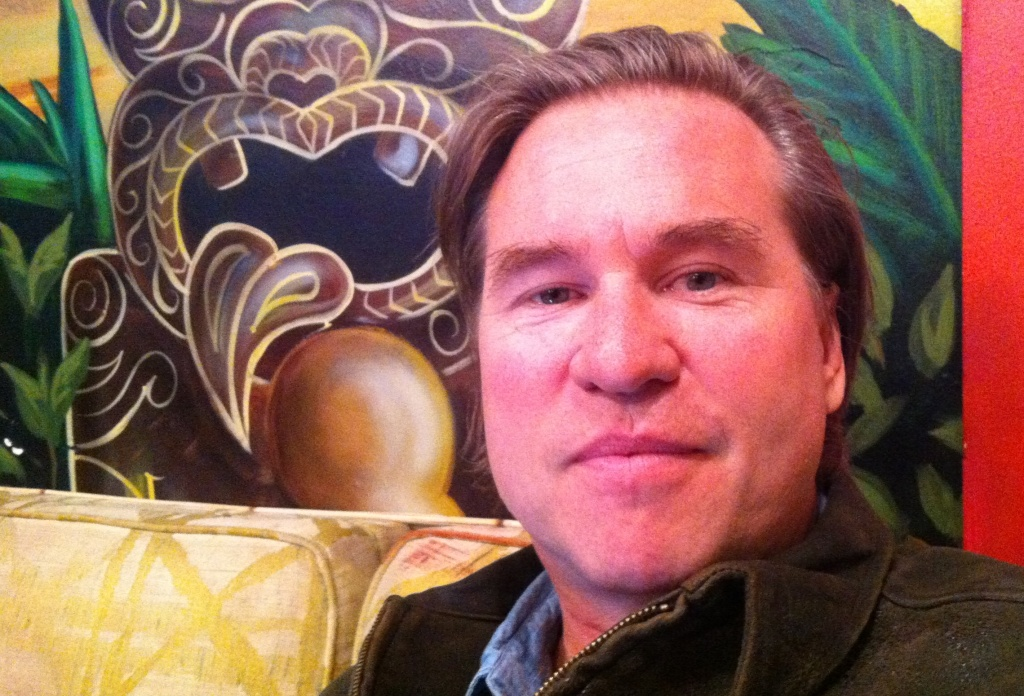 Val Kilmer at a rehearsal space somewhere in Santa Monica