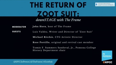 "The return of ""Zoot Suit"": downSTAGE with The Frame"