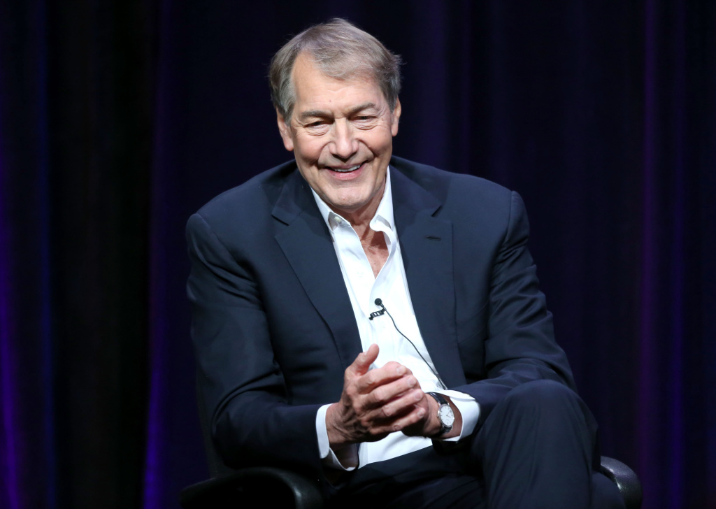 File: Journalist Charlie Rose speaks onstage during the 'Charlie Rose: The Week' panel discussion at the PBS portion of the 2013 Summer Television Critics Association tour at the Beverly Hilton Hotel on Aug. 7, 2013 in Beverly Hills.