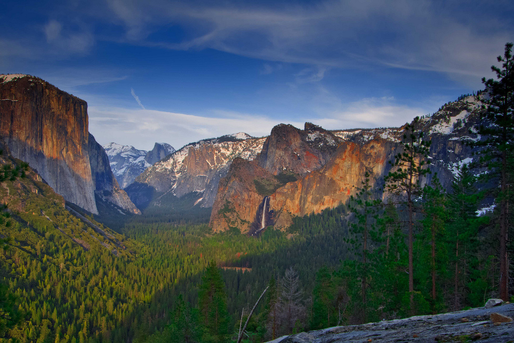 Yosemite Valley, Yosemite National Park. So far this year, the Sierra Nevada high country has had one of the driest and warmest winters on record. But storms heading to California could change that.