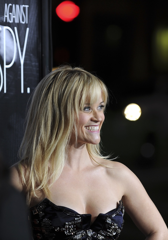 Actress Reese Witherspoon arrives at the Los Angeles premiere of