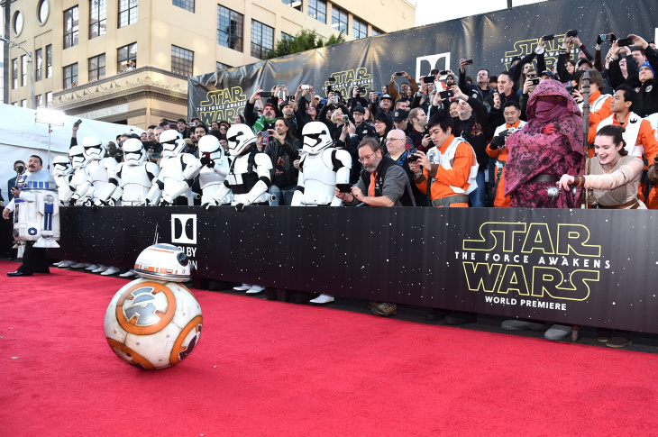 Sphero BB-8 attends the World Premiere of