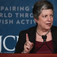 Former Department of Homeland Security chief Janet Napolitano told the Washington Post in an interview that she supports the idea of President Obama taking executive action on immigration. Napolitano is now president of the University of California system.