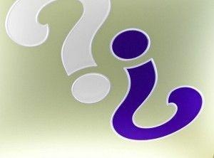 question makrs