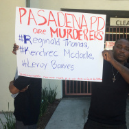 Pasadena man killed in police custody