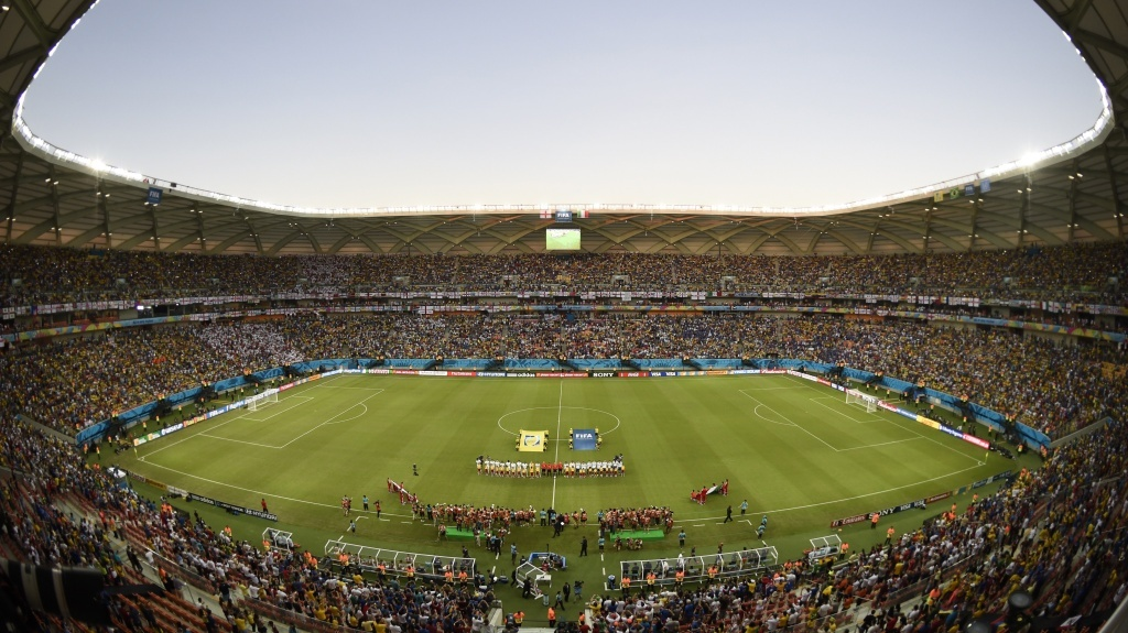The $300 million Arena de Amazonia in Manaus, Brazil, is hosting four games of the World Cup. Some say the country should have spent their money on more important things.