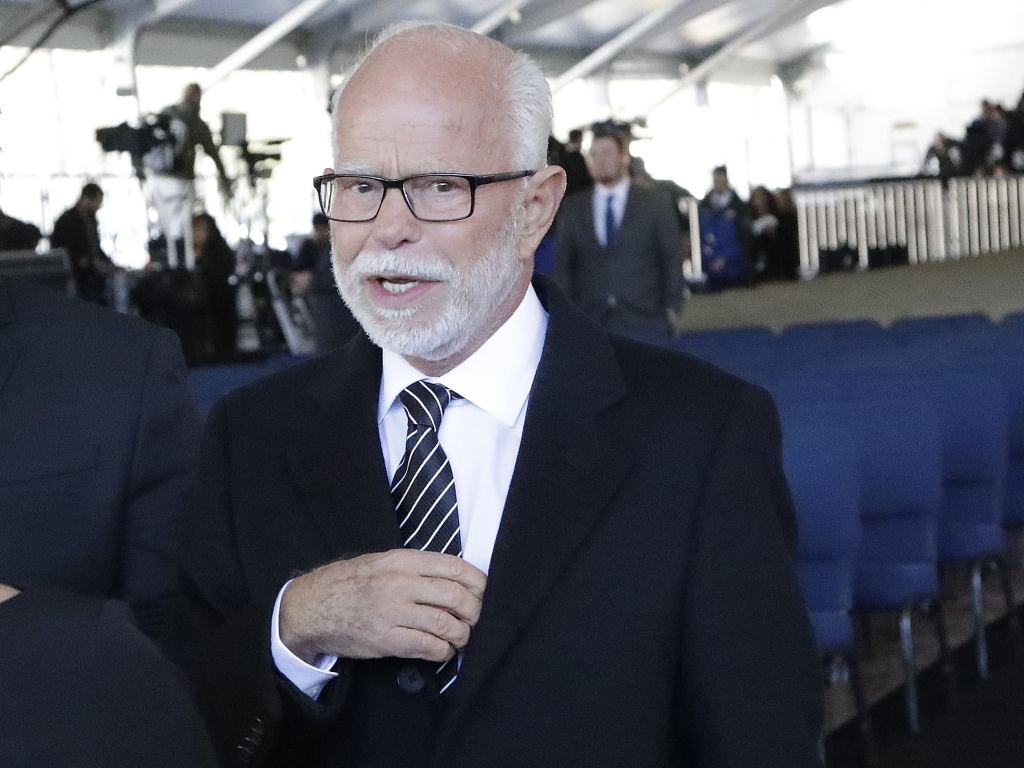Televangelist Jim Bakker, shown here in 2018, faces a legal challenge from the state of Missouri for selling a false remedy against the coronavirus. The COVID-19 disease currently has no cure.