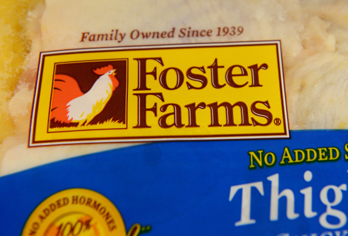 The CDC announced Wednesday that a salmonella outbreak linked to Foster Farms continues. Federal officials thought it was over in January but the number of cases spiked the following month. So far 524 people have gotten sick.
