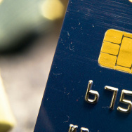 An EMV chip embedded on a credit card. Starting October 1st, retailers who do not have a device that reads these chips will now be liable for losses when they accept a fraudulent card.