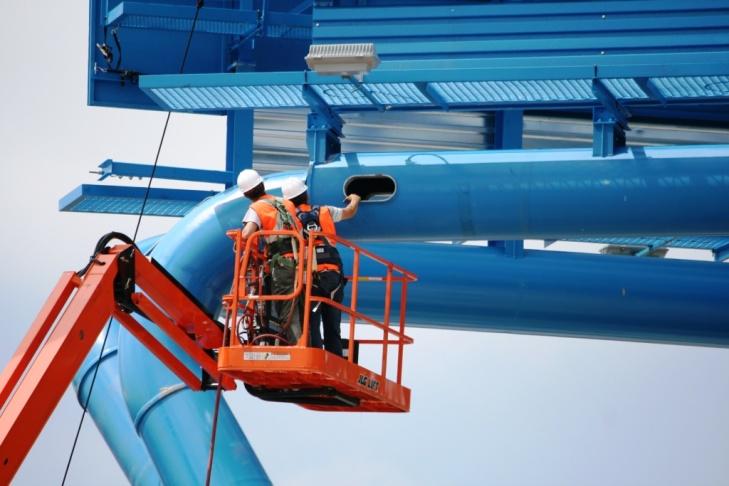Rendering of new billboard pole structure on Sunset Strip near La Cienega