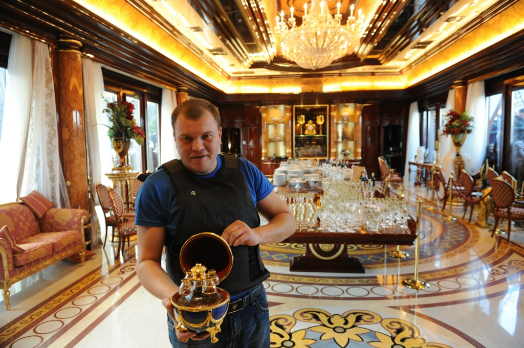 My Ford Benefits >> 25 pictures from the Mezhyhirya: The opulent estate of ...