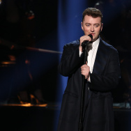 Singer Sam Smith who's expected to win big at the 57th annual Grammy Awards this weekend