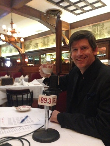 John Rabe at Musso and Frank, 2015