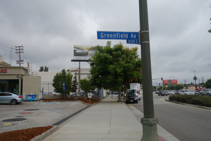 This billboard on Santa Monica Blvd. is among some 391 identified in a Los Angeles city inventory of signs that were altered without city permission. Most of those signs had a second face added, some were made larger or taller.