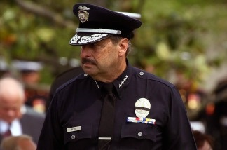 The Los Angeles Police Department's Chief Charlie Beck