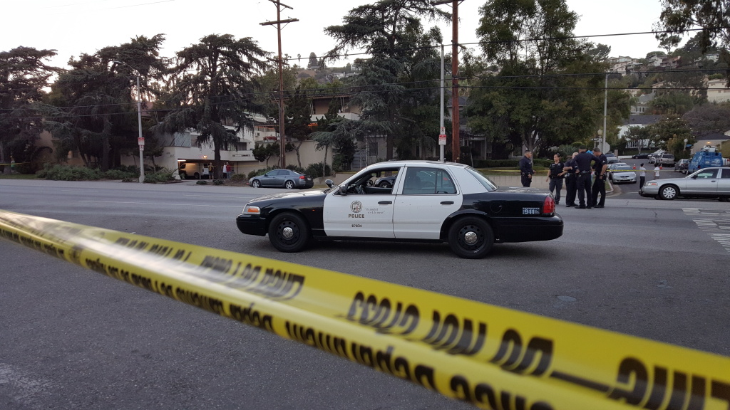 An officer-involved shooting occurred Friday in Los Feliz.