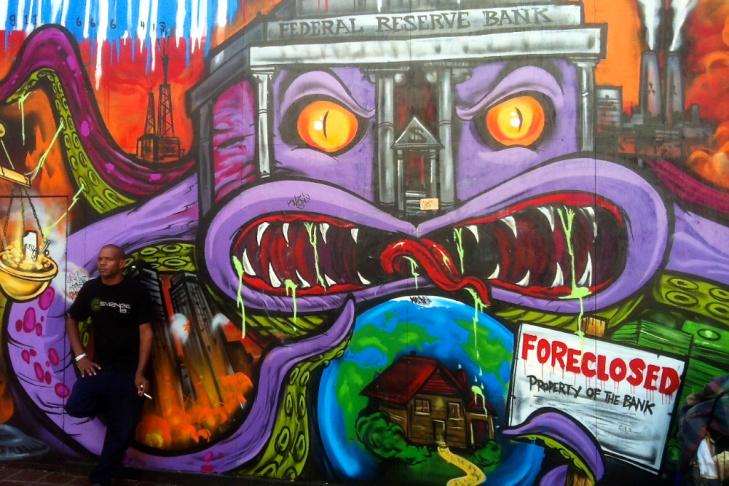 Occupy LA Mural