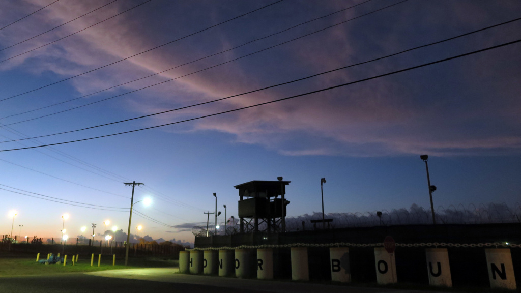 In a letter to the White House, 24 senators said the U.S. military prison at Guantánamo Bay, Cuba