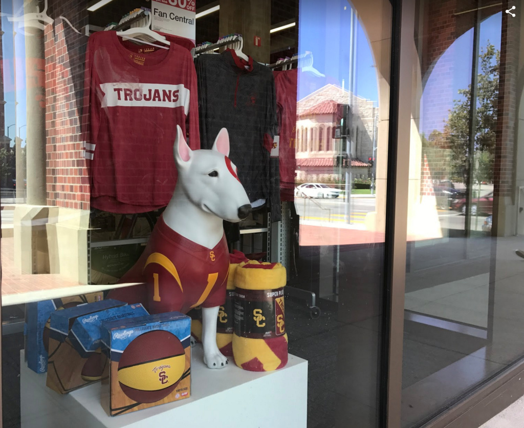 The new Target at USC Village features an inventory of Trojan gear.