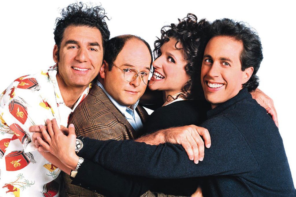 NBC's Seinfeld is now available for streaming. It's one of a few choice picks on the next installment of, The Binge.