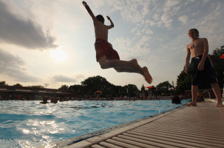New York City Public Pools Open For Summer