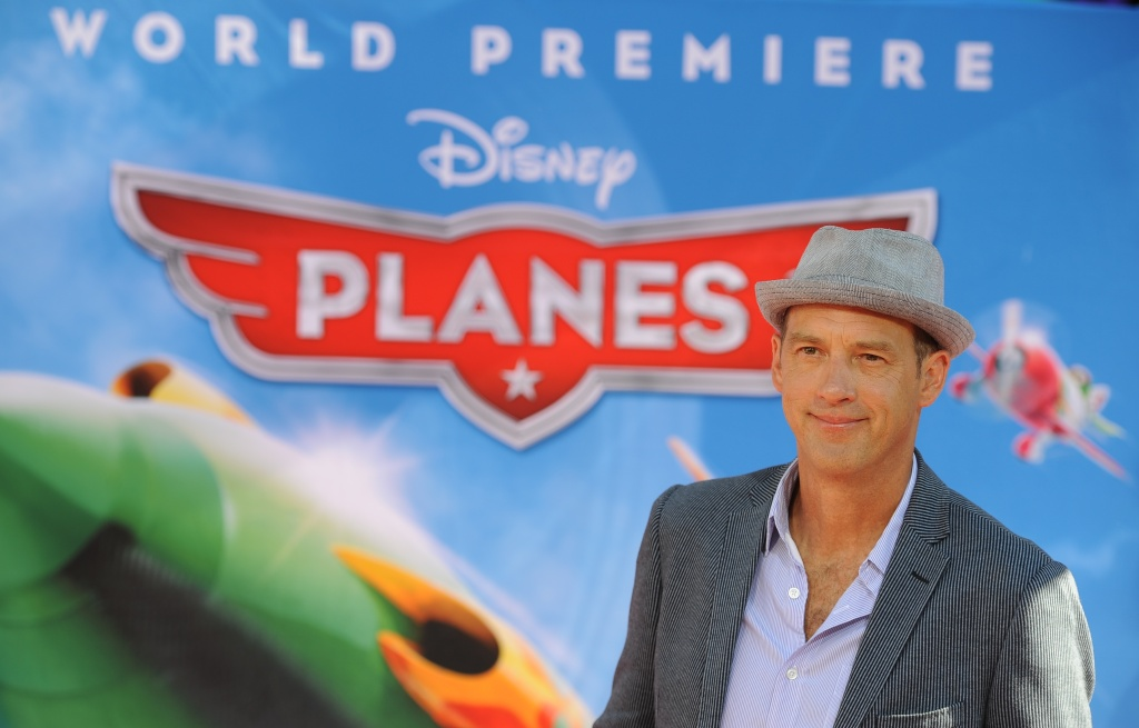 Actor Anthony Edwards attends the premiere of Disney's