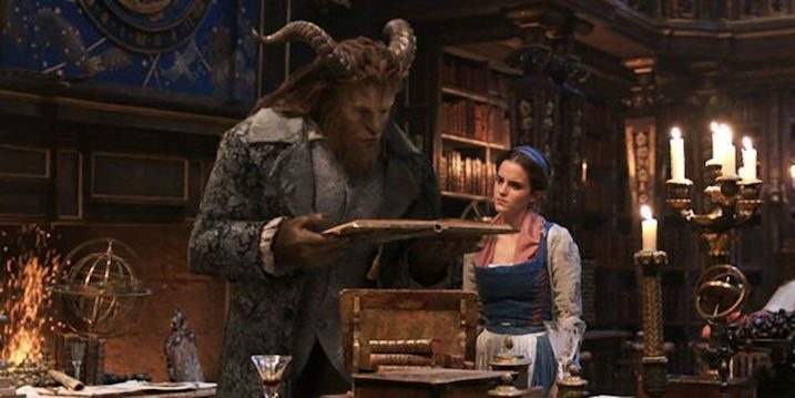 Disney's live action version of the fairy tale, Beauty and the Beast, dominated the weekend box office