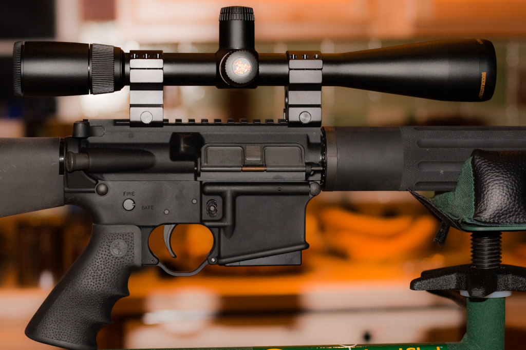 The AR-15 assault rifle