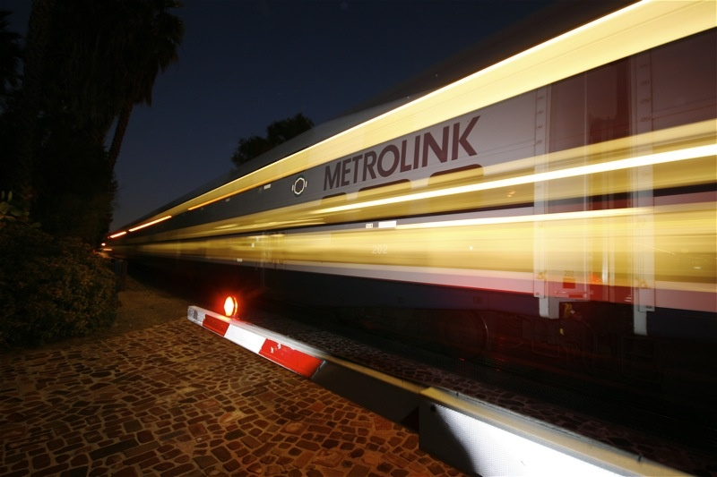 This file photo shows the Metrolink at the San Juan Capistrano Depot. Metrolink Orange County Line and Inland Empire-Orange Count Line trains will only run to and from San Juan Capistrano this weekend.