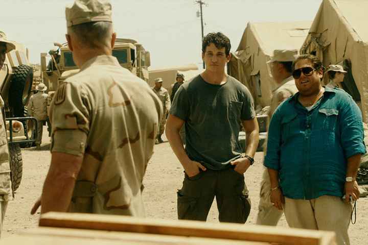 Screenwriter, Stephen Chin, traveled to Iraq in order to write