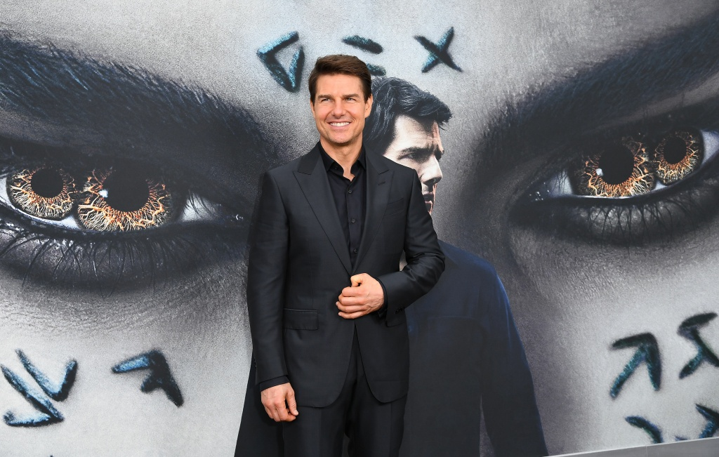 Actor Tom Cruise attends 'The Mummy' New York Fan Event at AMC Loews Lincoln Square on June 6, 2017 in New York City.