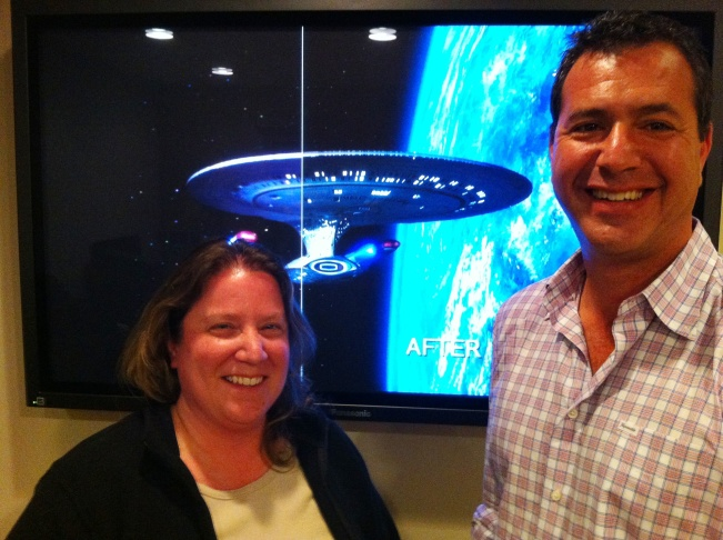 "Sarah Paul & Craig Weiss of CBS/""Star Trek: The Next Generation"" restoration"