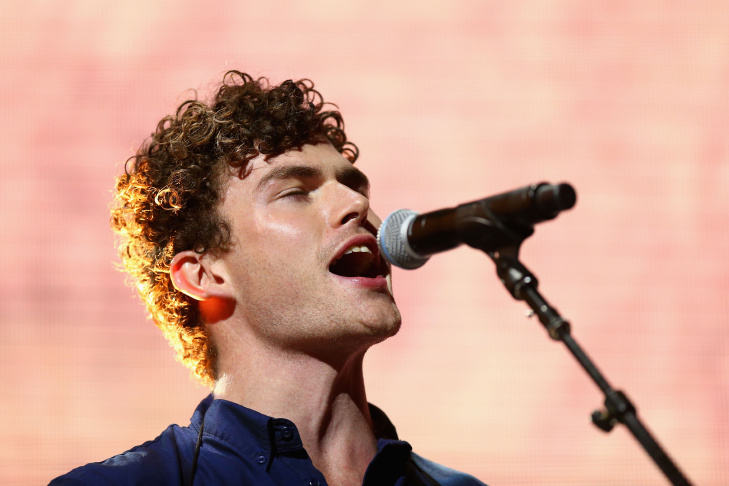 Vance Joy performs during the 27th Annual ARIA Awards 2013 at the Star on December 1, 2013 in Sydney, Australia.