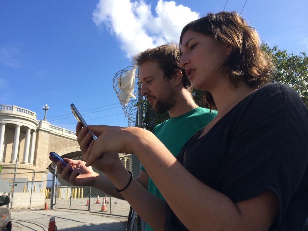 Secret trails in LA require a smartphone to find them