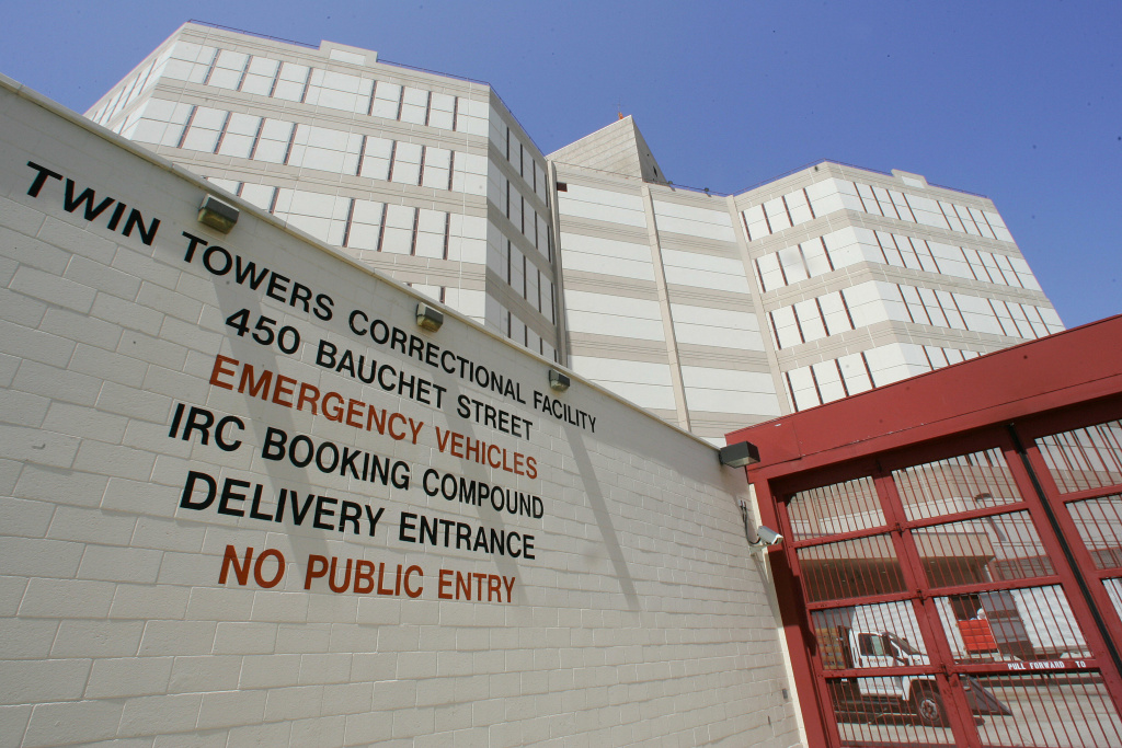 The Twin Towers Correctional Facility in Los Angeles
