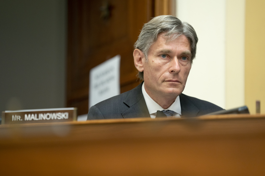 Rep. Tom Malinowski, D-N.J., is the lead sponsor of a House resolution condemning QAnon and the conspiracy theories it promotes.