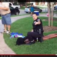 McKinney Police Corporal Eric Casebolt has been placed on administrative leave and some are calling for him to be fired after drawing his gun and pinning down a teenage girl.