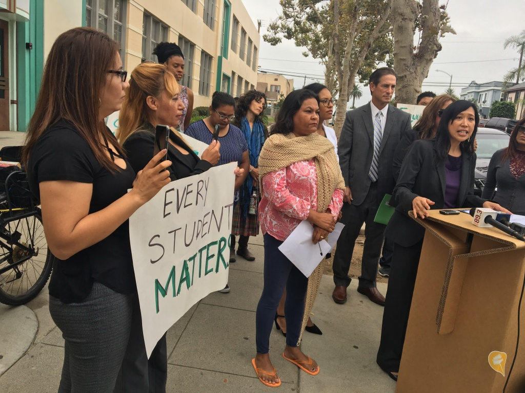 Audio Activists Ramp Up Complaints About Long Beach Unified S