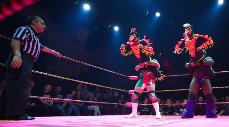 US- ENTERTAINMENT-LUCHA VA VOOM-MEXICAN MASKED WRESTLING