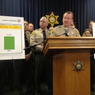 Los Angeles Sheriff Jim McDonnell