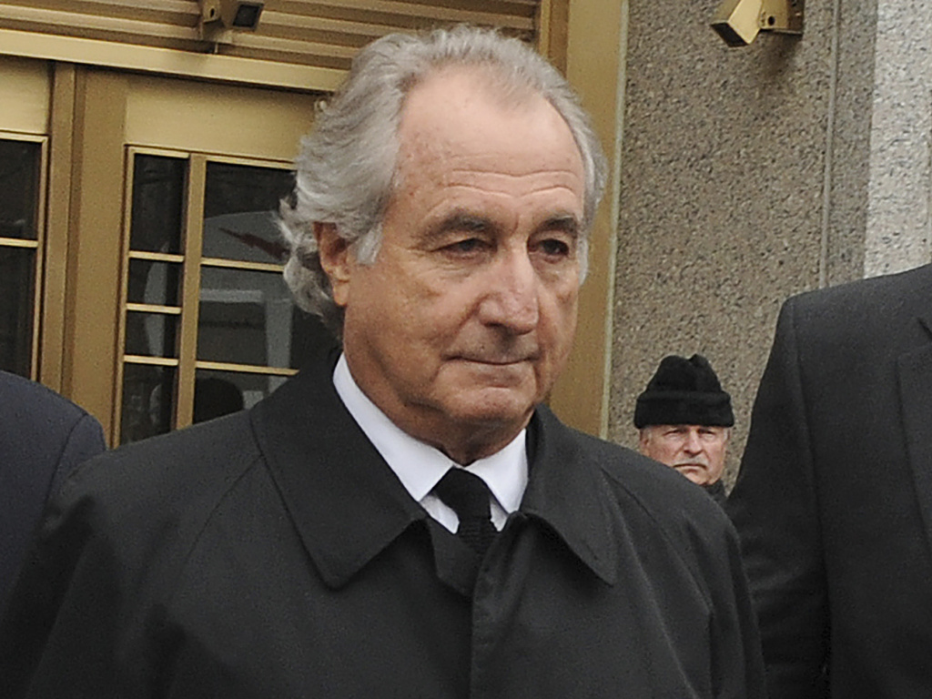 Bernard Madoff, shown here in 2009, died Wednesday in a federal prison facility in North Carolina.