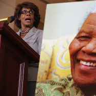 US Congressional Leaders Honor Nelson Mandela On His 95th Birthday