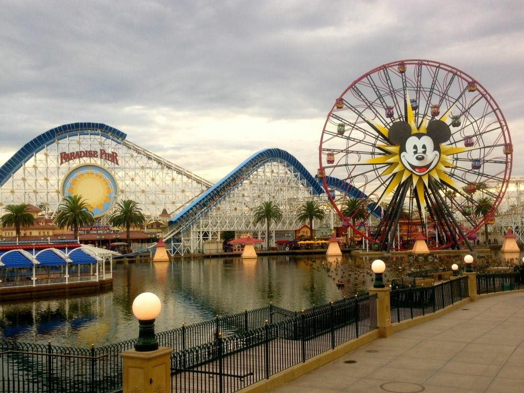 "For decades, at Disneyland and then California Adventure (above), Kodak has sponsored ""Picture Spots"" – locations worthy of snapping Kodak moments."